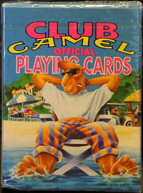 Club Camel Official Playing Cards - New in wrapper