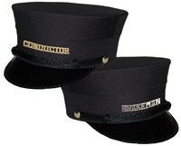 Brakeman's & Conductor's Hats